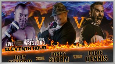 Eddie Dennis vs Jody Fleisch vs Jonny Storm